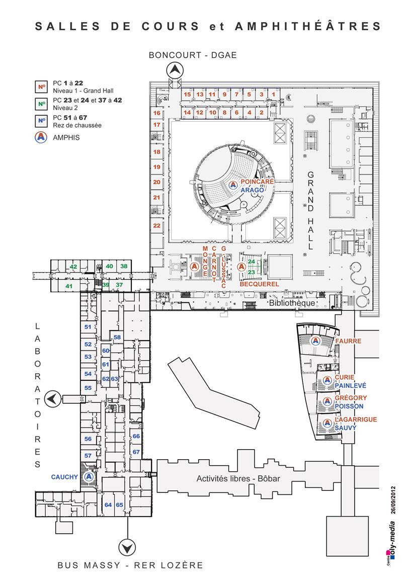 Carte Campus Bordeaux.Maps And Directions Ecole Polytechnique